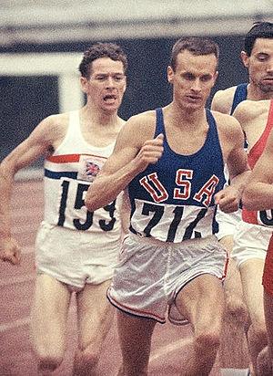 Dyrol Burleson - Dyrol Burleson (right) at the 1964 Olympics