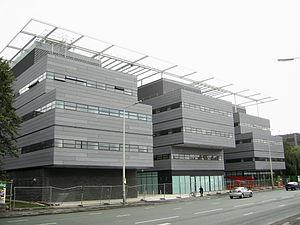 School of Mathematics, University of Manchester - The Alan Turing Building. Home of the School of Mathematics from July 2007