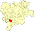 Albacete Molinicos Mapa municipal.png