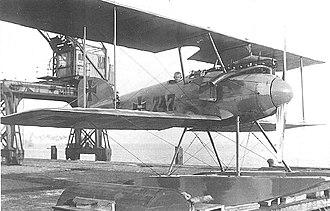 Albatros W.4 - First prototype of Albatros W.IV, No.747