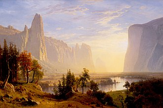 Oakland Museum of California - Albert Bierstadt, Yosemite Valley, 1868, oil on canvas