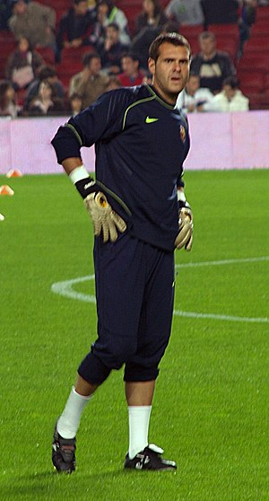 Albert Jorquera - Jorquera training with Barcelona in 2007