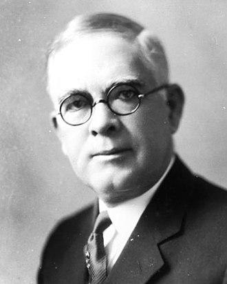 Albert A. Murphree - University of Florida President Albert A. Murphree, circa 1927.