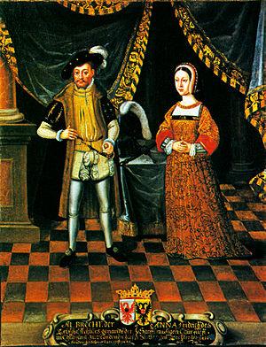 Anna of Saxony, Electress of Brandenburg