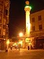 Aleppo (Halab), Abendlicher Blick auf das Minarett der Omayadenmoschee, 11. Jhdt. (38651010106).jpg