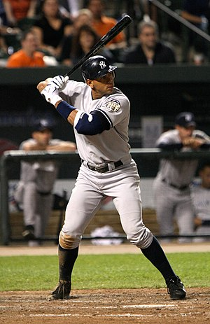 Alex Rodriguez - Rodriguez with the Yankees in 2008