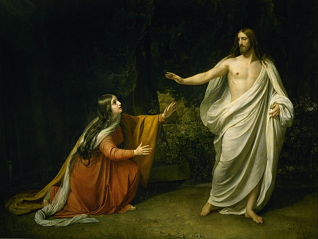 Christ's Appearance to Mary Magdalene after the Resurrection, by Alexander Ivanov