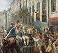 Alfred Mouillard - Robespierre et Saint-Just partant à la guillotine.jpg