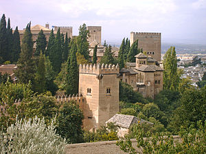 Tales of the Alhambra - Irving lived at the Alhambra Palace while writing some of the material for his book.
