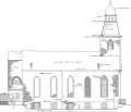 All Saint's Church, 286-290 Henry Street, New York, New York County, NY HABS NY,31-NEYO,14- (sheet 6 of 10) crop.png