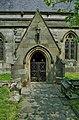 All Saints Parish Church entrance porch - geograph.org.uk - 1147442.jpg