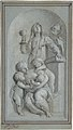 Allegorical Figures of Faith, Hope and Charity in a Niche MET DP800856.jpg