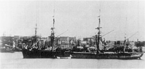 Nikolai Rimsky-Korsakov - The Russian military clipper Almaz in New York Harbor in 1863. Rimsky-Korsakov served as a midshipman on this ship and later wrote about this cruise.