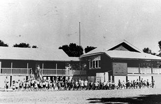 Bunny Adair - Aloomba State School, circa 1914