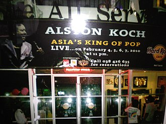 Alston Koch - Image: Alston Koch At Hard Rock Cafe
