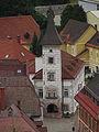 Altes Rathaus in Eisenerz - vom Schichtturm aus gesehn.jpg