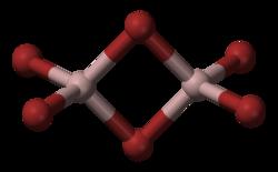 Molekula bromidu hlinitého