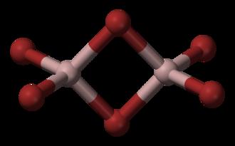 Aluminium bromide - Image: Aluminium bromide 3D balls