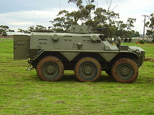 Alvis Saracen - An Australian Saracen at the Edinburgh, South Australia National Military Vehicle Museum