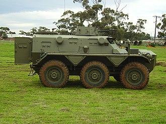 Alvis Saracen - An Australian Saracen at the Edinburgh, South Australia National Military Vehicle Museum