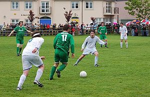 Association football in the Republic of Ireland - Association football match in Kilkenny