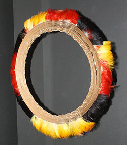Amazonia maina headdress 1925 nmai19-7205.jpg