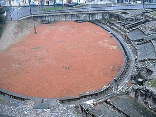 Roman amphitheatre in France