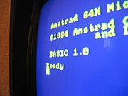 Locomotive BASIC on the Amstrad CPC 464