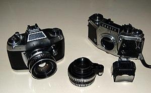 Exakta - An Exa IIb and an Exakta Camera