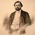 Anastas Jovanović, Avram Petronijević, 1850, lithograph, National Museum of Serbia.jpg