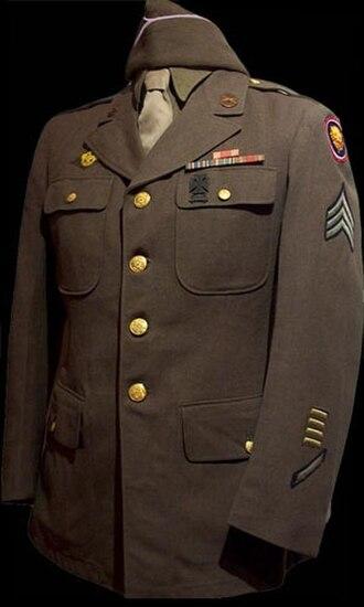 Eisenhower jacket - All-purpose service coat.