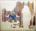Andrea di bartolo (attr.), madonna in trono col bambino, angeli, committente e s. sebastiano, 1474 ca. ( da s.m. della pina a castiglioni).jpg