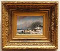 Andreas Schelfhout (1787-1870), Winterlandschap, 1847, Olieverf op paneel.JPG