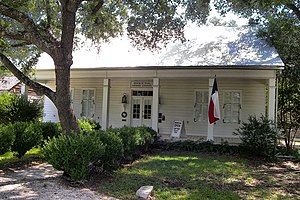 National Register of Historic Places listings in Comal County, Texas - Image: Andreas breustedt house 2012