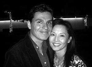 Tamlyn Tomita - Image: Andres Useche and Tamlyn Tomita
