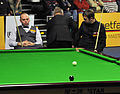 Andrew Higginson, Stuart Bingham and Thorsten Müller at Snooker German Masters (DerHexer) 2013-01-30 02.jpg