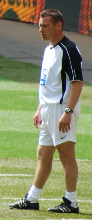 Andy Porter (footballer) - Porter with York City in the 2009 FA Trophy Final