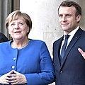 Angela Merkel and Emmanuel Macron (2019-10-09).jpg