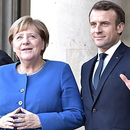 Angela Merkel and Emmanuel Macron (2019-10-09).jpg