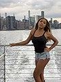 Angele Anang on boat.jpg