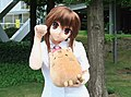Animegao cosplayer of Rin Natsume, Little Busters! 20100814a.jpg