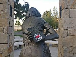 Antifaschistische Aktion - Image: Anne Frank Human Rights Memorial Antifaschistische Aktion Sticker