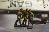 Antique toy soldier aviators (25192541186).jpg