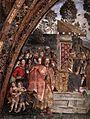 Appartamento borgia, sala dei santi, disputa di santa caterina, dettaglio.jpg