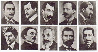 Anti-intellectualism - Some of the Armenian intellectuals who were detained, deported, and killed in the Armenian Genocide of 1915