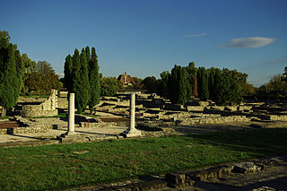 Aquincum historical settlement in the Roman Empire
