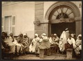 Arabs at a cafe, Algiers, Algeria-LCCN2001697836.tif