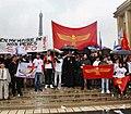 Aramean genocide (Sayfo) commemoration in Paris, France 2.jpg