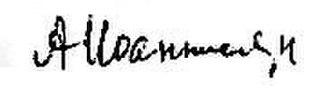 Arab Shamilov - Image: Arap Shamoevich Shamilov Signature
