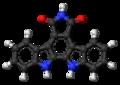 Arcyriaflavin A molecule ball.png